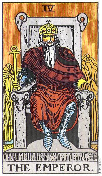 imperatorius, taro, taro kortos, burimas taro kortomis, burimai taro, magija, burtis taro kortomis, taro korta