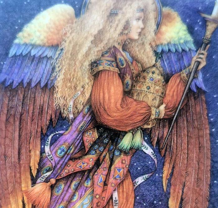Arkangelas Hanielis, hanielis, archangelas, burejos magija, burejos, magija, angelu kortos, angelu korta